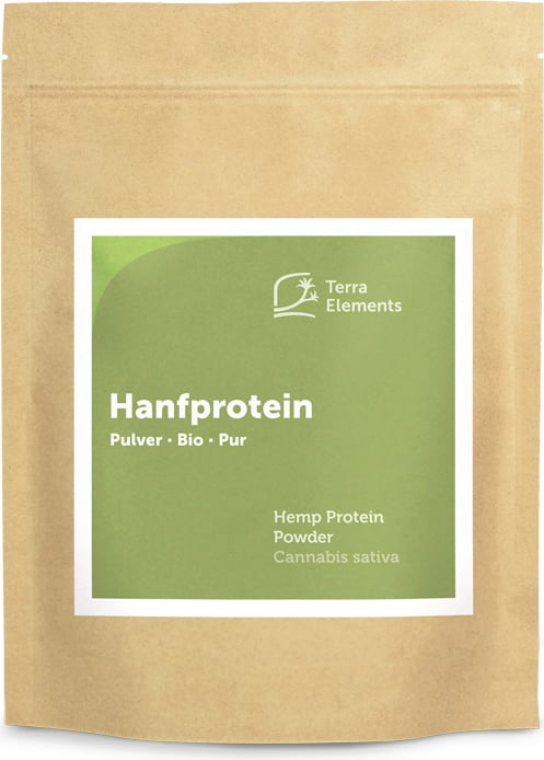 Terra Elements Hanfprotein Pulver Bio - 500 g von Terra Elements