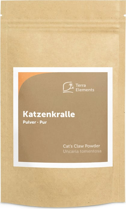 Terra Elements Katzenkralle Pulver - 100 g von Terra Elements