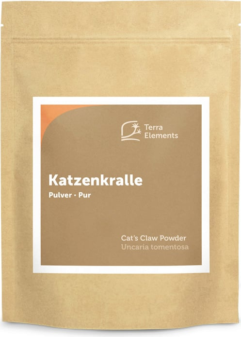 Terra Elements Katzenkralle Pulver - 500 g von Terra Elements