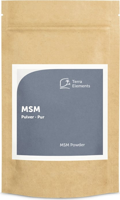Terra Elements MSM Pulver - 500 g von Terra Elements
