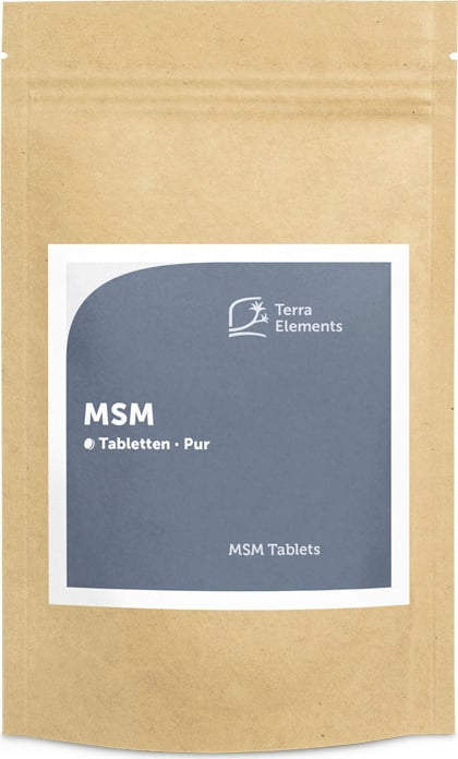 Terra Elements MSM Tabletten - 160 Tabletten von Terra Elements