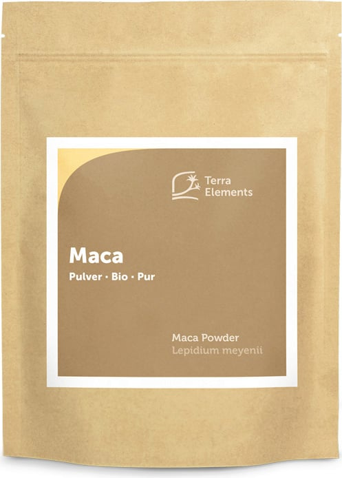 Terra Elements Maca Pulver Bio - 500 g von Terra Elements