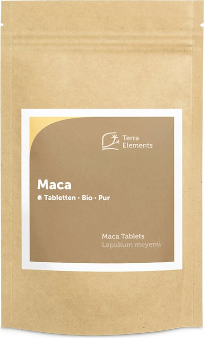 Terra Elements Maca Tabletten Bio - 240 Tabletten von Terra Elements