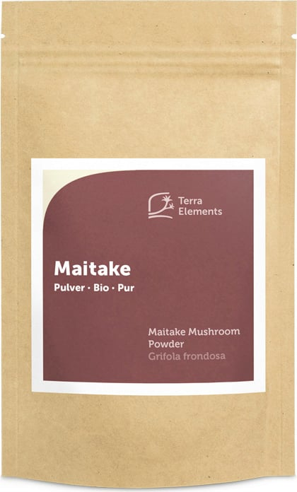 Terra Elements Maitake Pulver Bio - 100 g von Terra Elements