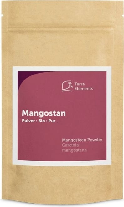 Terra Elements Mangostan Pulver Bio - 100 g von Terra Elements