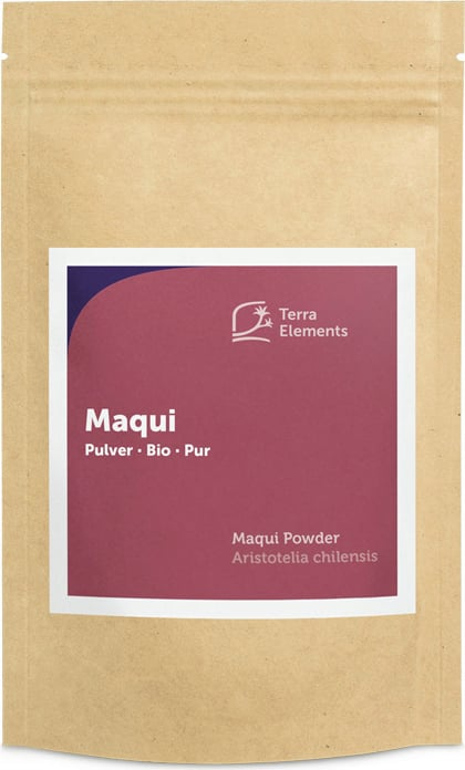 Terra Elements Maqui Pulver Bio - 100 g von Terra Elements
