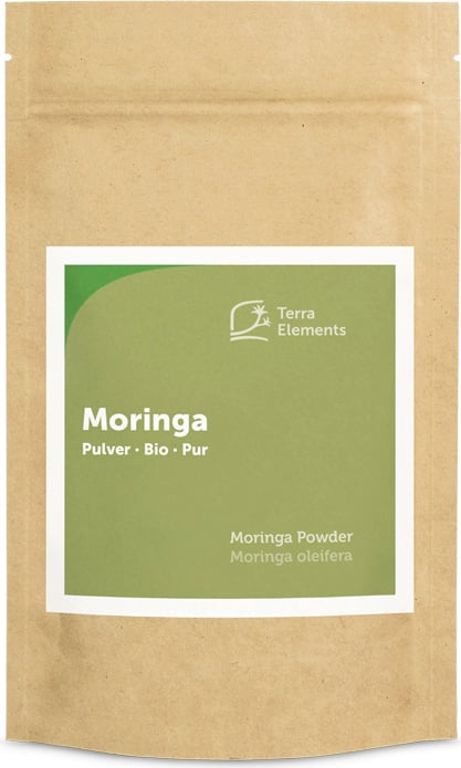Terra Elements Moringa Pulver Bio - 100 g von Terra Elements