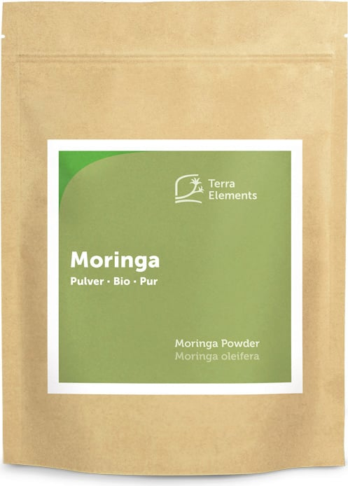 Terra Elements Moringa Pulver Bio - 500 g von Terra Elements