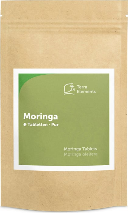 Terra Elements Moringa Tabletten Bio - 240 Tabletten von Terra Elements