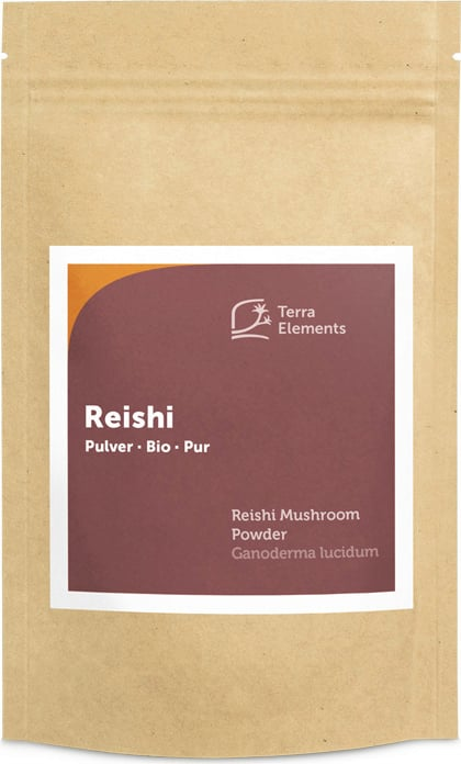 Terra Elements Reishi Pulver Bio - 100 g von Terra Elements