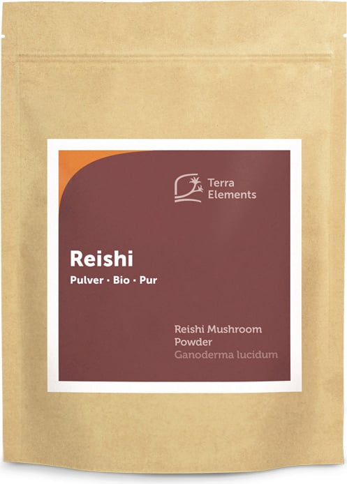 Terra Elements Reishi Pulver Bio - 500 g von Terra Elements