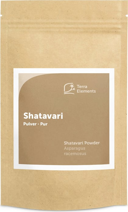 Terra Elements Shatavari Pulver Bio - 100 g von Terra Elements