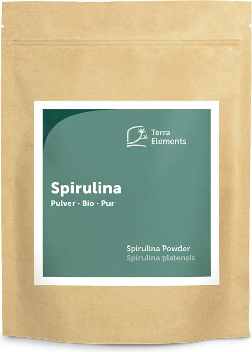 Terra Elements Spirulina Pulver Bio - 500 g von Terra Elements