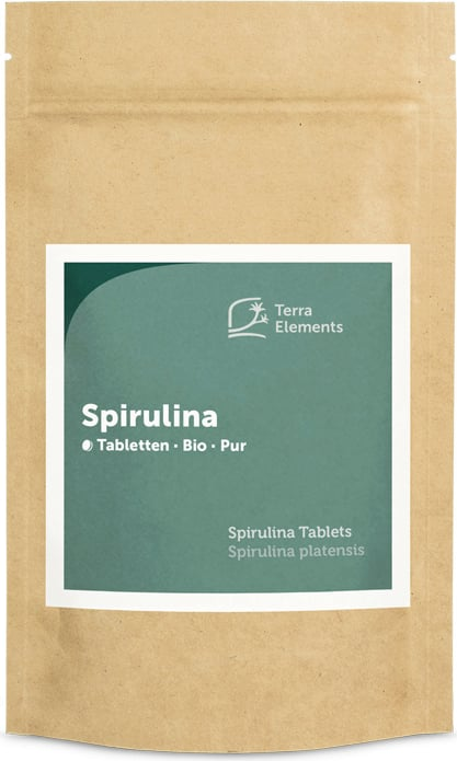 Terra Elements Spirulina Tabletten Bio - 240 Tabletten von Terra Elements
