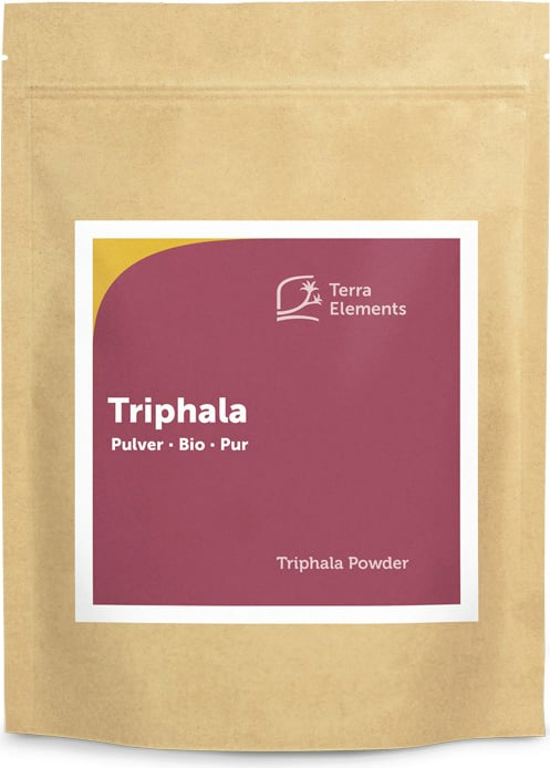 Terra Elements Triphala Pulver Bio - 500 g von Terra Elements