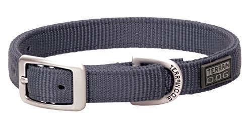 Terrain D.O.G. Nylon Double-Ply Dog Collar von Terrain D.O.G.