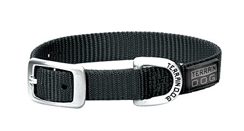 Terrain D.O.G. Nylon Single-Ply Dog Collar von Terrain D.O.G.