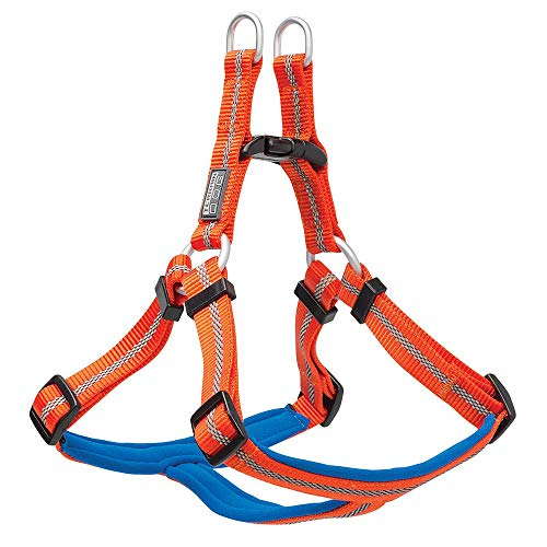 Terrain D.O.G. Reflective Neoprene Lined Harness, Orange, Large, 20-33 inch Girth Size von Terrain D.O.G.