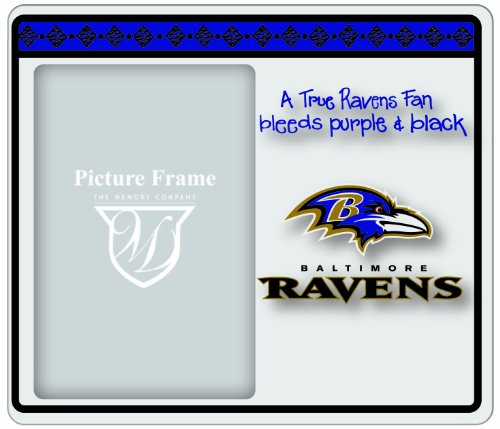 The Memory Company NFL Baltimore Ravens True Fan Rahmen von The Memory Company
