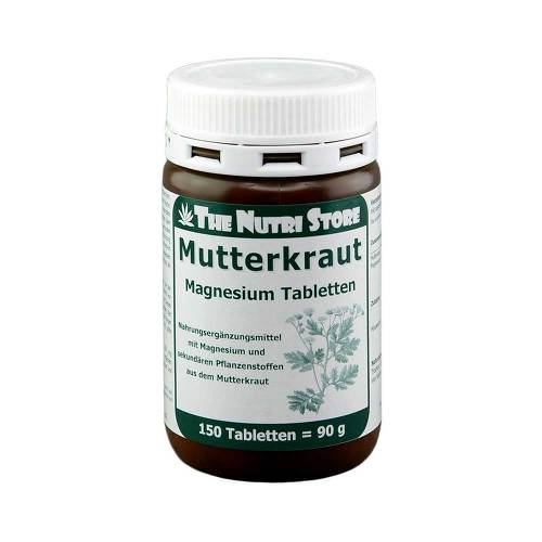 Mutterkraut Magnesium Tabletten von The Nutri Store