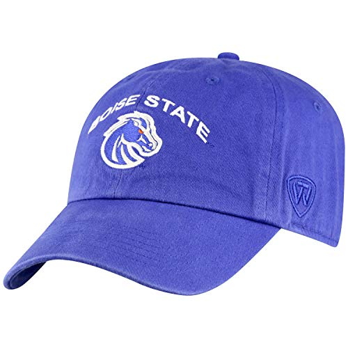 Top of the World Herren Mütze NCAA verstellbar Relaxed Fit Team Arch, Herren, NCAA Men's Adjustable Hat Relaxed Fit Team Arch, Boise State Broncos Royal, Einstellbar von Top of the World