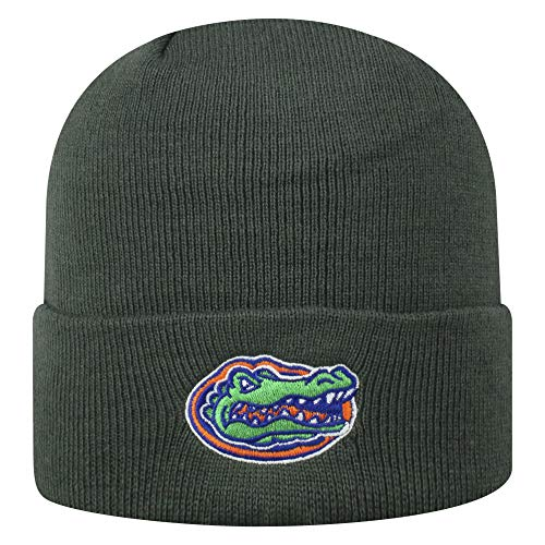 Top of the World Florida Gators Men's Cuffed Knit Hat Charcoal Icon, One Fit von Top of the World