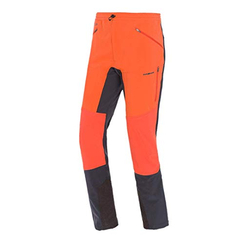 Trangoworld Russel Pant Lang, Herren. XXL Orange/Anthrazit von Trangoworld