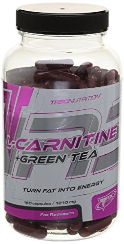 TREC NUTRITION L-Carnitine + Green Tea, 1er Pack (1 x 180 Kapseln) von Trec Nutrition