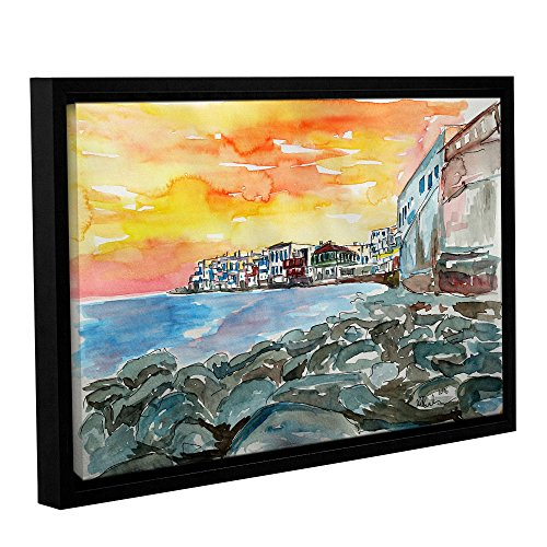 "Marcus/Martina Bleichner Kunstdruck ""Magnificient Mykonos Sunset Scene Little Venedig"", 61 x 91 cm von Tremont Hill"