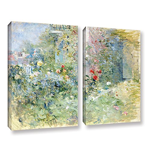 "Tremont Hill Berthe Morisot ""The Garden at Bougival, 1884"", 2-teiliges Leinwand-Set, 45,7 x 61 cm von Tremont Hill"