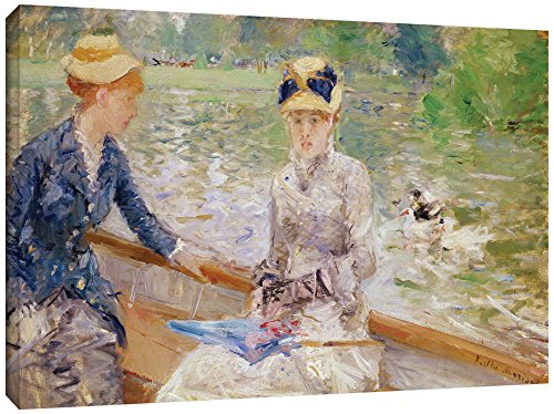 Tremont Hill Berthe Morisot ''Summer's Day 1879'' Gallery Wrapped Canvas, 08X12 von Tremont Hill
