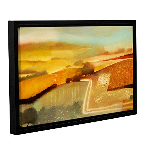 Tremont Hill Charlie Baird ''Track'' Gallery Wrapped Floater-Framed Canvas, 16X24 von Tremont Hill