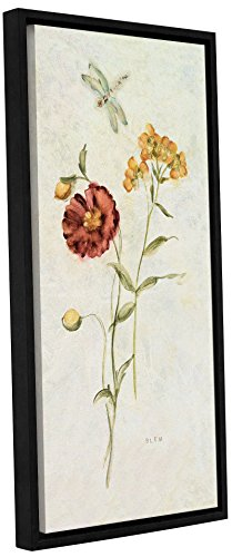 Tremont Hill Cheri Blum ''Wild Wall Flowers IV'' Gallery Wrapped Floater-Framed Canvas, 18X36 von Tremont Hill