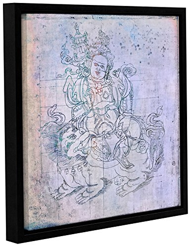 Tremont Hill Elena Ray ''Buddha Remix V'' Gallery Wrapped Floater-Framed Canvas, 18X18 von Tremont Hill
