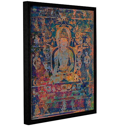 Tremont Hill Elena Ray ''Buddha Remix XI'' Gallery Wrapped Floater-Framed Canvas, 14X18 von Tremont Hill