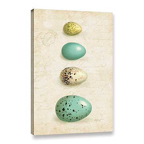 Tremont Hill Katie Pertiet ''Bird Eggs II'' Gallery Wrapped Canvas, 12X18 von Tremont Hill