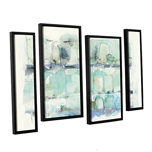 Tremont Hill Mike Schick ''North Shore Crop'' 4 Piece Floater Framed Canvas Staggered Set, 24X36 von Tremont Hill