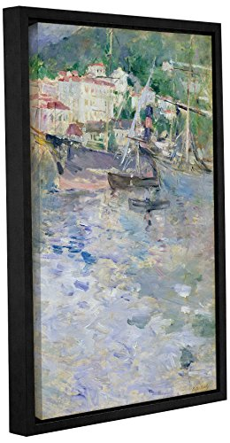 Tremont Hill die Port, Nice, 1882, blau, 40,6 x 61 cm von Tremont Hill