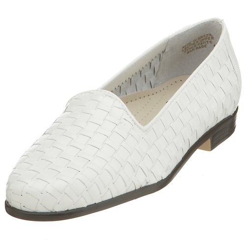 Trotters Women's Liz Loafer,White,6 N von Trotters