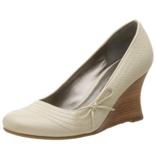 Two Lips Damen Aldora Wedge, Beige (Knochenleder), 41 EU von Two Lips
