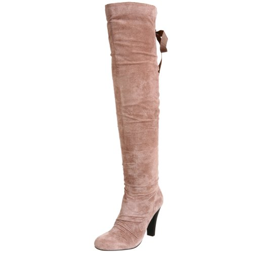 Two Lips Damen Kitty Kat Wildlederstiefel, Braun (hautfarben), 40 EU von Two Lips