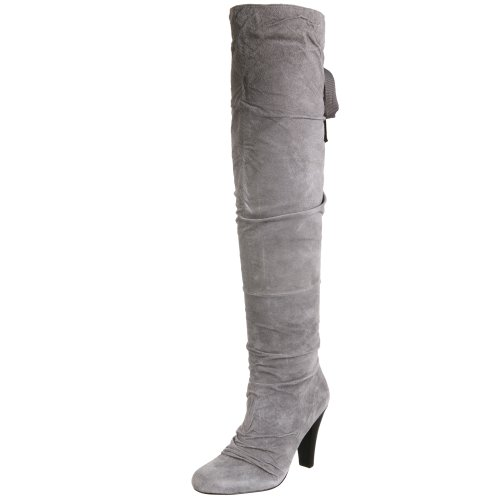 Two Lips Damen Kitty Kat Wildlederstiefel, Grau (grau), 41 EU von Two Lips