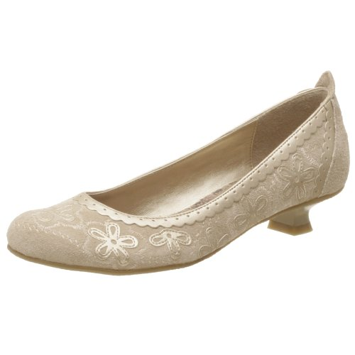 Two Lips Damen Lightning Low Heels Pumps, Beige (champagnerfarben), 35.5 EU von Two Lips