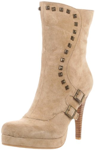 Two Lips Damen Nervy Stiefel, Beige (Natur), 38 EU von Two Lips