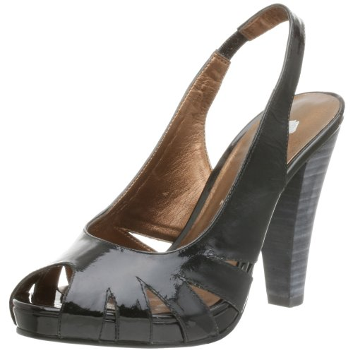 Two Lips Damen Salma Slingback Pumps, Schwarz (schwarz), 42 EU von Two Lips