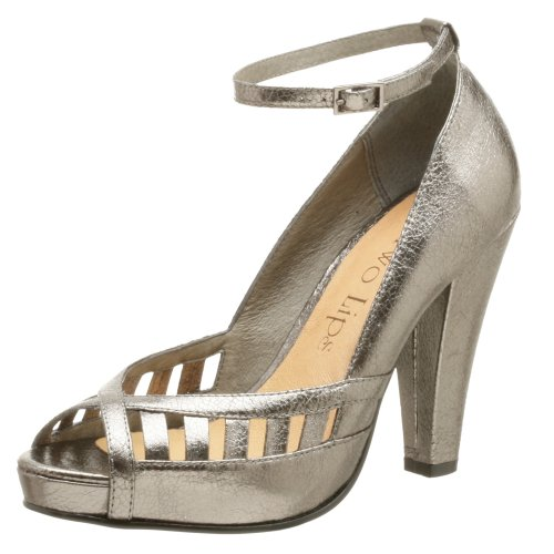 Two Lips Damen Syna Pump, Silber (Zinnfarben), 39 EU von Two Lips