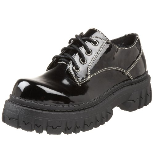 Two Lips Damen Too Boyz Oxford, Schwarz (schwarz), 37.5 EU von Two Lips