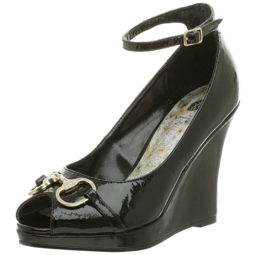 Two Lips Damen Vanity Wedge, Schwarz (schwarz), 42 EU von Two Lips