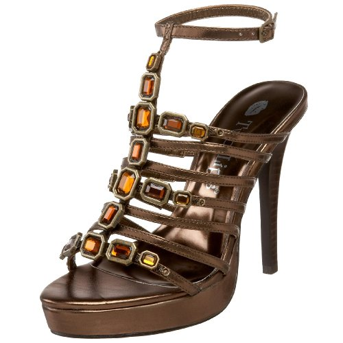 Two Lips Enigma Damen-Sandalen, Gold (Bronze), 37 EU von Two Lips