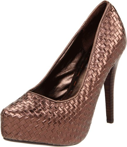 Two Lips Pizazz Damen Pumpe, Braun (Bronze), 37.5 EU von Two Lips